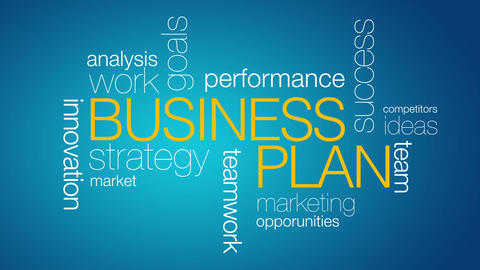 Business Plan Stock Video Footage