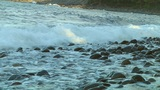 Rock Beach stock footage