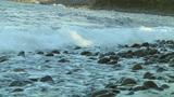 Rock Beach stock footage