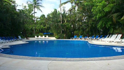 Resort Swimming Pool Stock Video Footage