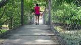 Suspension Bridge Footage