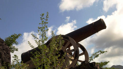 cannon 09 Stock Video Footage