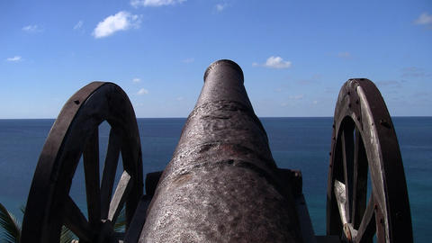 cannon 07 Stock Video Footage