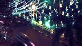 Night City Traffic 06 B stock footage