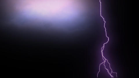 Lightning sequence in colors Animation