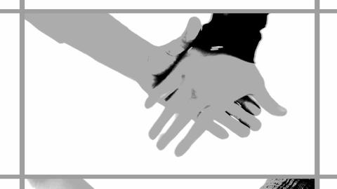 sequence of handshake screens 2 Animation