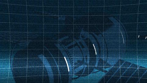 Telecommunication satellite Stock Video Footage