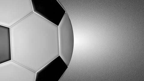 3 D football turn around 02 Animation