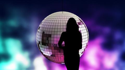 Disco dancer 01 Stock Video Footage