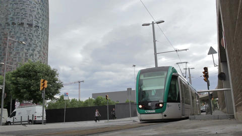 0057 TRSPRT TRAM EDIT BCN Footage