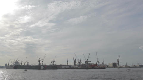 00204 TMLPS Port HAM Stock Video Footage