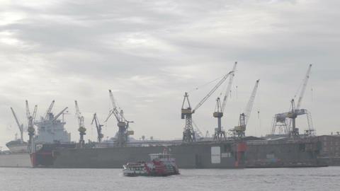 00207 TMLPS Port HAM Stock Video Footage