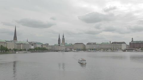 00213 Hamburg HAM Stock Video Footage