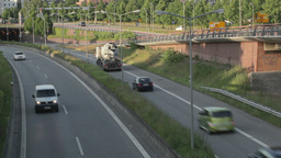 00219 Cars HAM Stock Video Footage