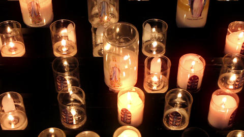 Candles 05 Stock Video Footage