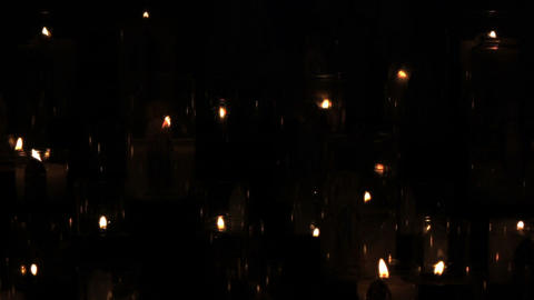 Candles 03 Stock Video Footage