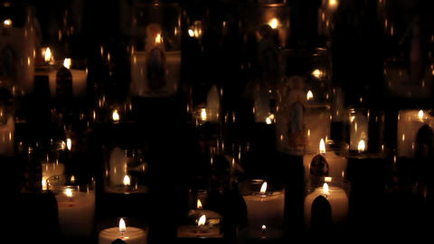 Candles 01 Stock Video Footage