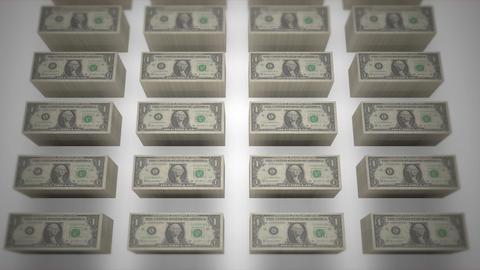 Dollar bills 06 Stock Video Footage