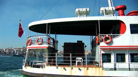 Bosphorus ship b Footage