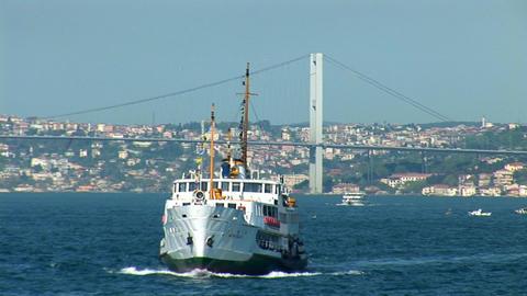 Bosphorus ship Footage