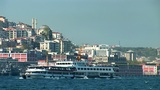 Bosphorus Ships D stock footage