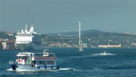 Bosphorus trafic c Footage
