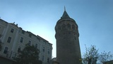 Galata Tower In Istanbul -c stock footage