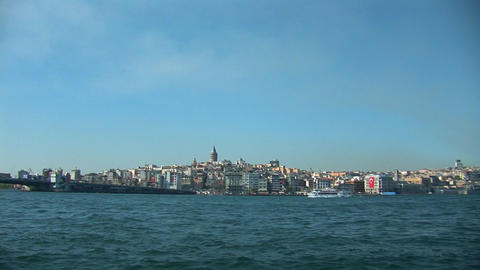 Istanbul Bosphorus b Stock Video Footage
