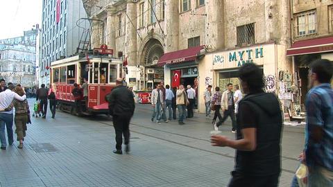 Old tram Footage