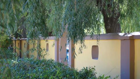 Heihe University Autumn. Fence Stock Video Footage