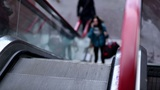 Escalators to the shopping mall Footage