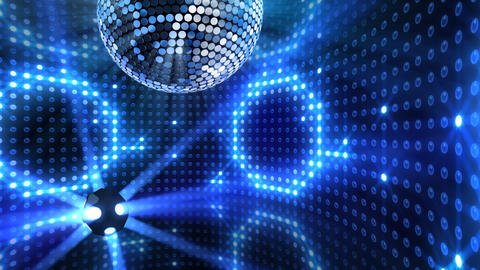 Mirror Ball 2 x 1 LB 09 HD Stock Video Footage