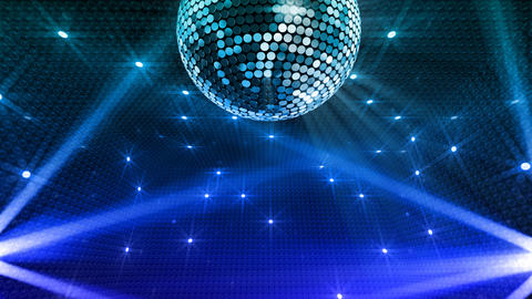 Mirror Ball 2 x 1 LB 15 HD Stock Video Footage