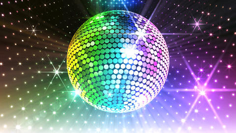 Mirror Ball 2 x 1 LD 06 HD Stock Video Footage