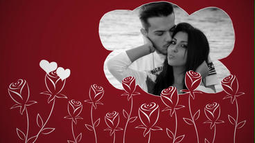 Love Story 1 After Effects Template