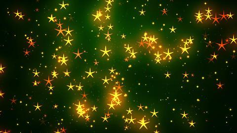 Celebration Stars 3 Loopable Background Animation