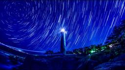 2K, Comparison light composition, Japan, national park, Hinomisaki Lighthou, Shi ビデオ