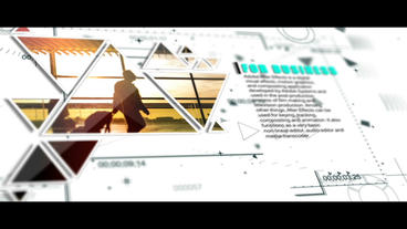 Corporate Modern/HUD/Triangle - Clean Slideshow After Effects Template