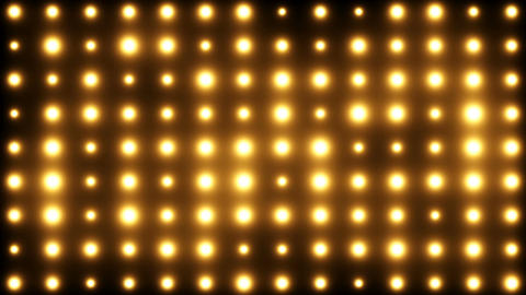 Bright Floodlights Flashing Vj Loop Background Animation