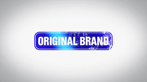 ORIGINAL BRAND Word 3D Animated Wooden Stamp Animation Animation
