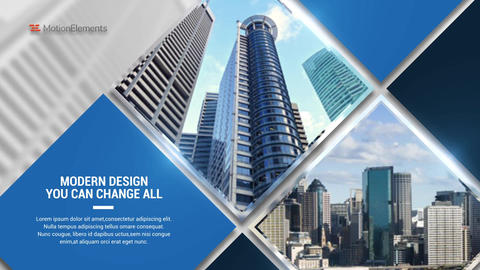 The Corporate Display After Effects Template
