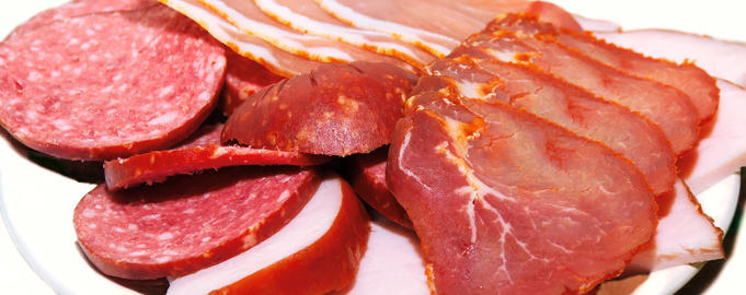 Sliced meat products Photo