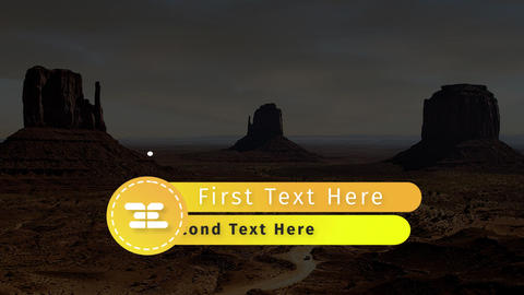 10 Minimal Lower Thirds - After Effect Project After Effects Template