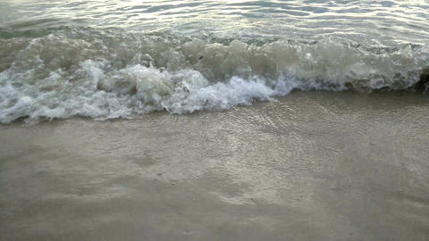 wave and beach Footage