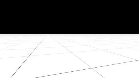Perspective grid background with camera in motion Animation