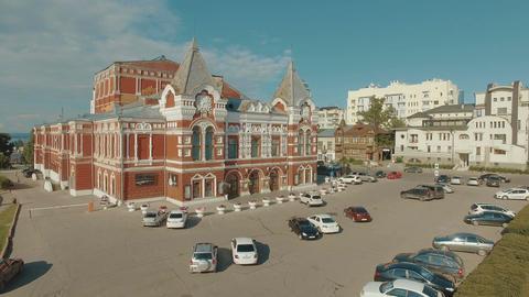 Samara academic drama theater Footage