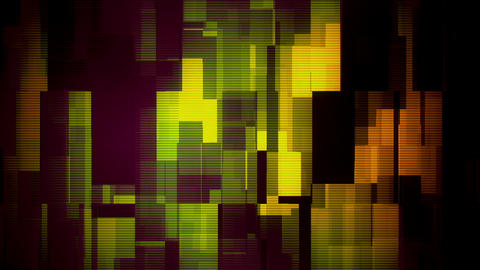 Glitch Moving Boxes 6 Loopable Background Animation