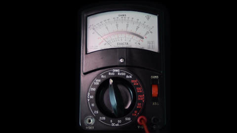 Multimeter Exacta 60fps medium shot ビデオ