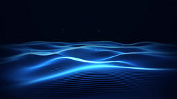 Dark Blue Wave Background Animation