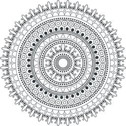 Mandala Vektor